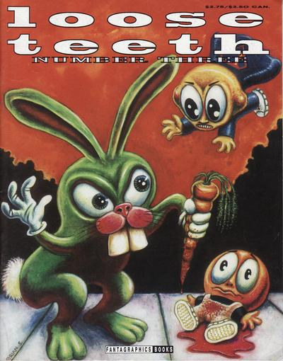 Cover for Loose Teeth (Fantagraphics, 1991 series) #3