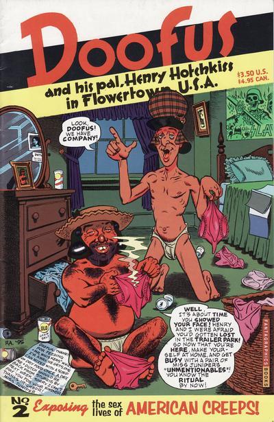 Cover for Doofus (Fantagraphics, 1994 series) #2