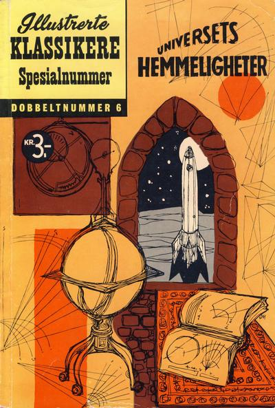 Cover for Illustrerte Klassikere Spesialnummer (Illustrerte Klassikere / Williams Forlag, 1959 series) #6 - Universets hemmeligheter