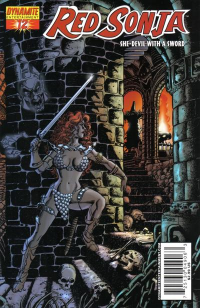 Cover for Red Sonja (Dynamite Entertainment, 2005 series) #12 [Jim Lee Cover]