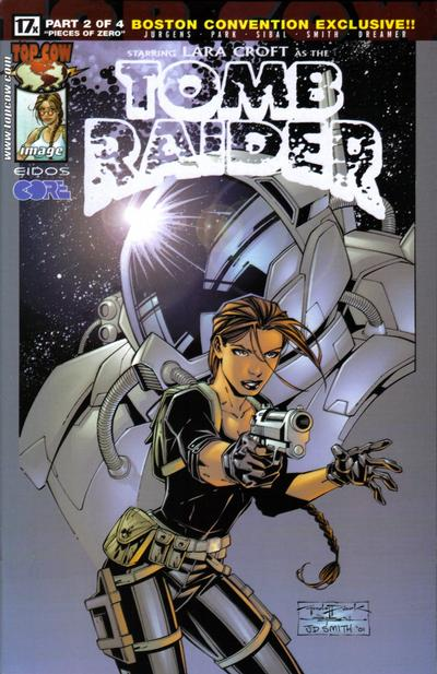 Cover for Tomb Raider: The Series (Image, 1999 series) #17 [Boston Convention Exclusive Variant]