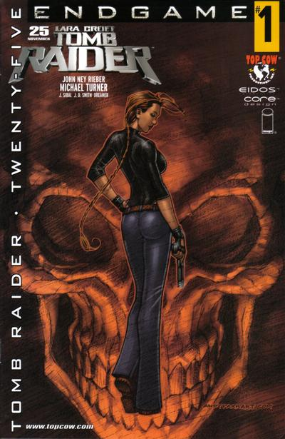 Cover for Tomb Raider: The Series (Image, 1999 series) #25 [Turner Cover]