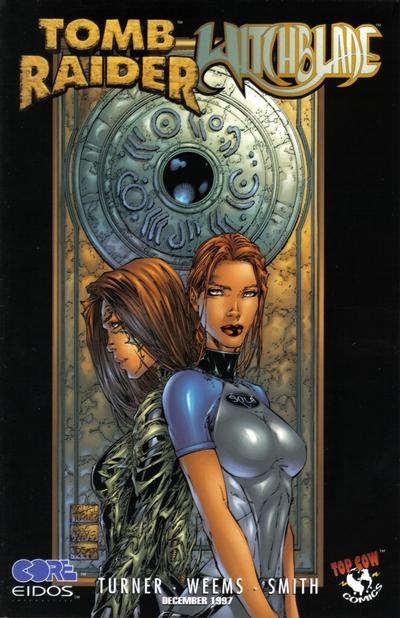Gcd Cover Tomb Raider Witchblade 1