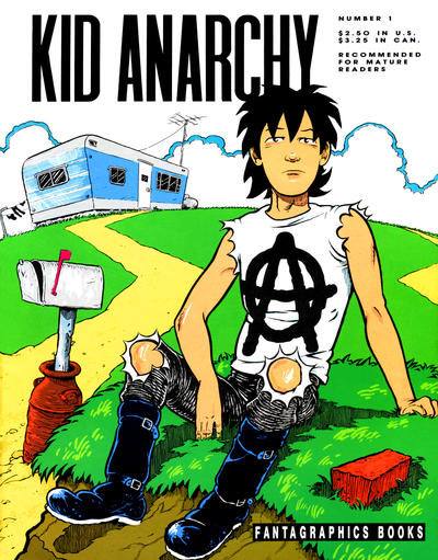 Cover for Kid Anarchy (Fantagraphics, 1991 series) #1