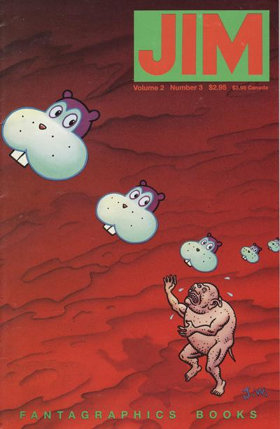 Cover for Jim (Fantagraphics, 1993 series) #3