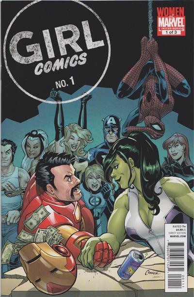 Cover for Girl Comics (Marvel, 2010 series) #1