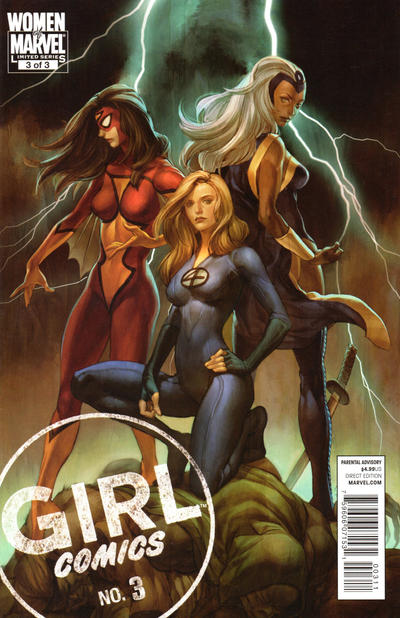 Cover for Girl Comics (Marvel, 2010 series) #3
