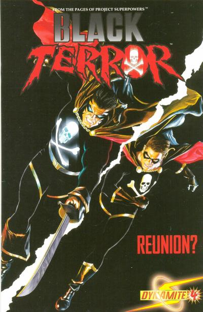 Cover for Black Terror (Dynamite Entertainment, 2008 series) #4 [Mike Lilly 1-in-25 Cover]