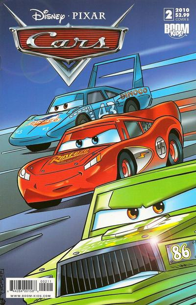 Cover for Cars (Boom! Studios, 2009 series) #2