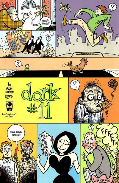 Cover for Dork (Slave Labor, 1993 series) #11