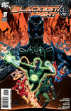 Cover for Blackest Night (DC, 2009 series) #1 [Third Printing]