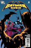 Cover for Batman and Robin (DC, 2009 series) #8 [Cameron Stewart Variant Cover]