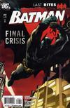 Cover for Batman (DC, 1940 series) #683 [Tony S. Daniel Cover]