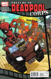 Cover for Prelude to Deadpool Corps (Marvel, 2010 series) #2