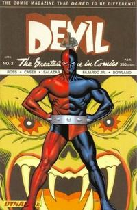 Cover Thumbnail for Death-Defying 'Devil (Dynamite Entertainment, 2008 series) #3 [John Cassaday Cover]