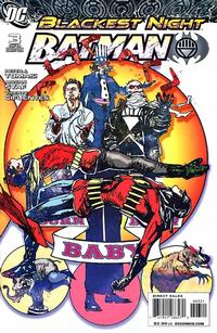 Cover Thumbnail for Blackest Night: Batman (DC, 2009 series) #3 [Cover B]