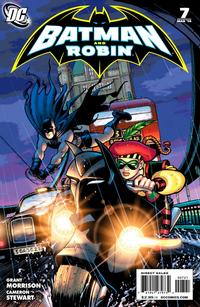 Cover Thumbnail for Batman and Robin (DC, 2009 series) #7 [Cameron Stewart Variant Cover]
