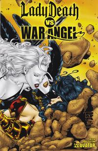 Cover Thumbnail for Brian Pulido's Lady Death vs War Angel (Avatar Press, 2006 series) #1 [Wrap]