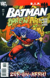 Cover Thumbnail for Batman (DC, 1940 series) #679 [Tony S. Daniel Cover]