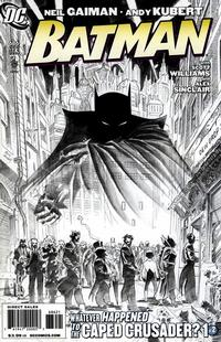 Cover Thumbnail for Batman (DC, 1940 series) #686 [Limited Edition Sketch Cover]