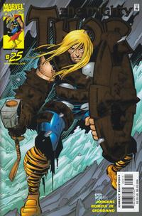 Cover Thumbnail for Thor (Marvel, 1998 series) #25 [Direct Deluxe Edition]