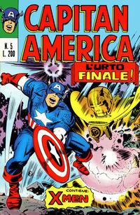 Cover Thumbnail for Capitan America (Editoriale Corno, 1973 series) #5