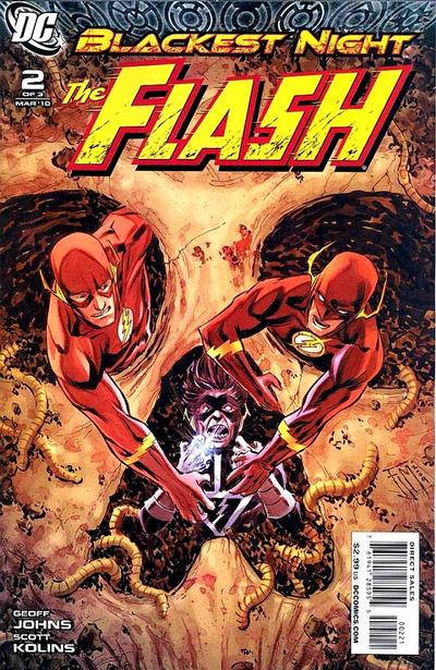 Cover for Blackest Night: The Flash (DC, 2010 series) #2 [Francis Manapul Cover]