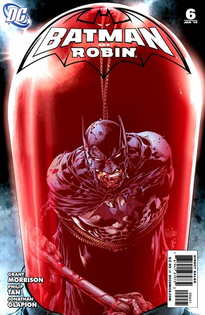 Cover for Batman and Robin (DC, 2009 series) #6