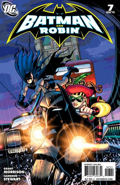 Cover for Batman and Robin (DC, 2009 series) #7
