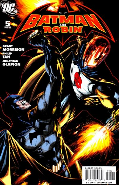 Cover for Batman and Robin (DC, 2009 series) #5