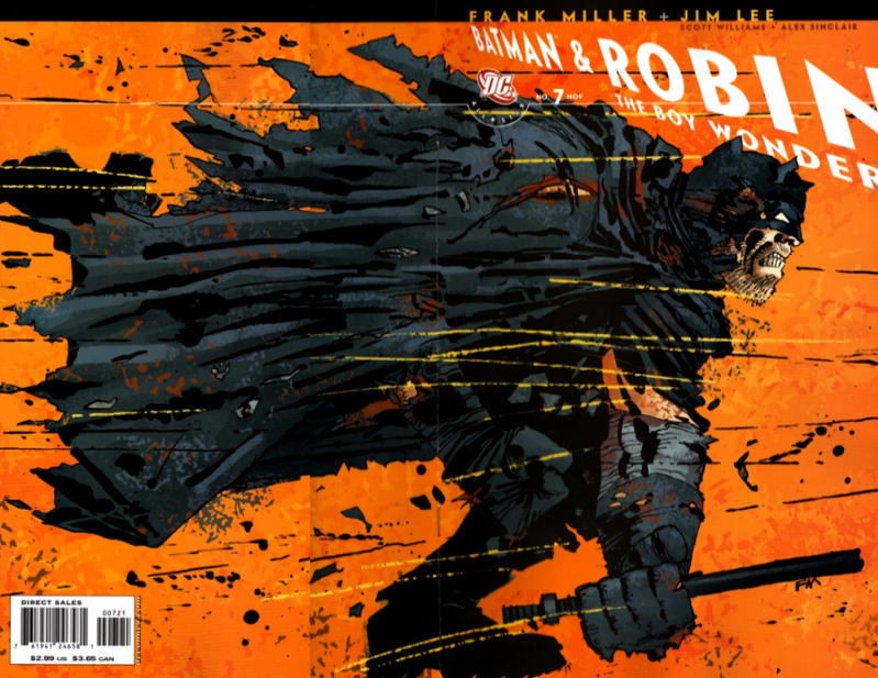 Cover for All Star Batman & Robin, the Boy Wonder (DC, 2005 series) #7 [Direct]