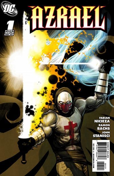 Cover for Azrael (DC, 2009 series) #1 [Frazer Irving Cover]
