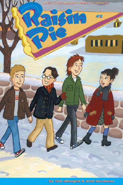 Cover for Raisin Pie (Fantagraphics, 2002 series) #2
