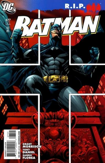 Cover for Batman (DC, 1940 series) #677 [2nd Printing]