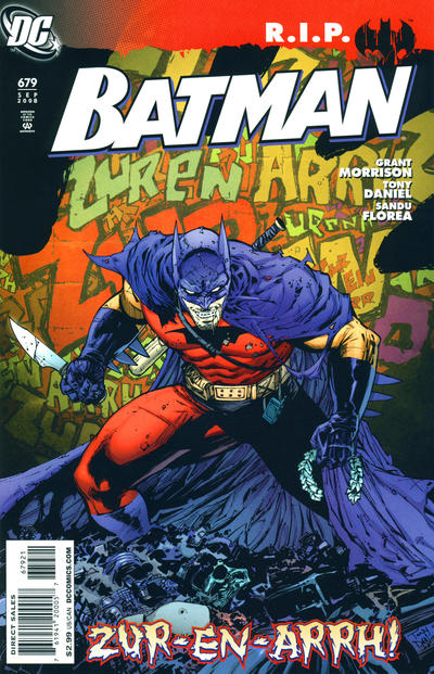 Cover for Batman (DC, 1940 series) #679 [Standard Cover]