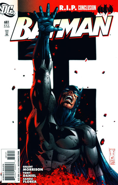 Cover for Batman (DC, 1940 series) #681 [Standard Cover]