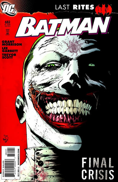 Cover for Batman (DC, 1940 series) #682 [Tony Daniel Variant Cover]