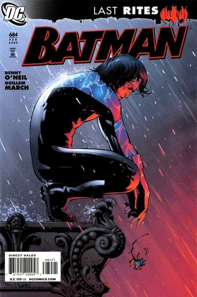 Cover for Batman (DC, 1940 series) #684 [Tony Daniel Variant Cover]