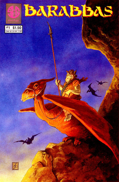 Cover for Barabbas (Slave Labor, 1986 series) #1