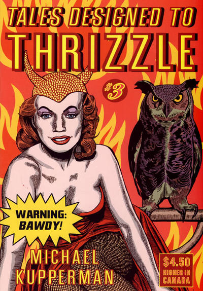 Cover for Tales Designed to Thrizzle (Fantagraphics, 2005 series) #3