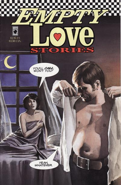 Cover for Empty Love Stories (Slave Labor, 1994 series) #1