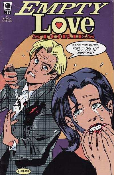 Cover for Empty Love Stories (Slave Labor, 1994 series) #2