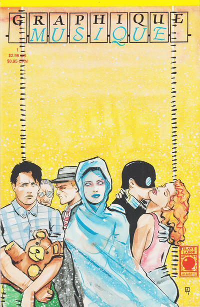 Cover for Graphique Musique (Slave Labor, 1989 series) #1