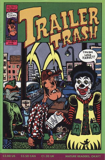 Cover for Trailer Trash (Tundra, 1992 series) #1