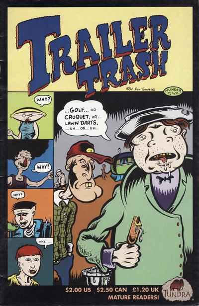 Cover for Trailer Trash (Tundra, 1992 series) #2