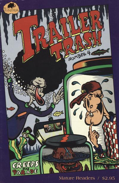 Cover for Trailer Trash (Tundra, 1992 series) #4