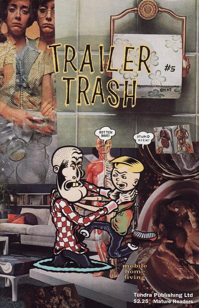 Cover for Trailer Trash (Tundra, 1992 series) #5