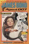 Cover for James Bond (Semic, 1965 series) #8/1986