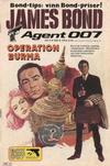 Cover for James Bond (Semic, 1965 series) #6/1983