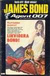 Cover for James Bond (Semic, 1965 series) #7/1983